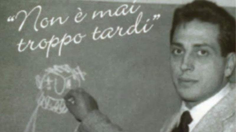 Alberto Manzi il Maestro d'Italia
