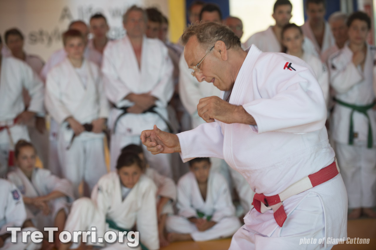 Tre Torri Judo Summer Camp 2014, day 5 – 2nd session