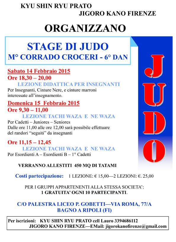 Stage di Judo a Firenze
