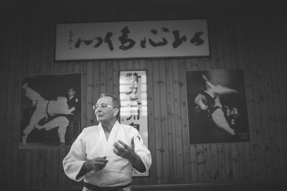 Judo Master Corrado Croceri and his idea of Judo
