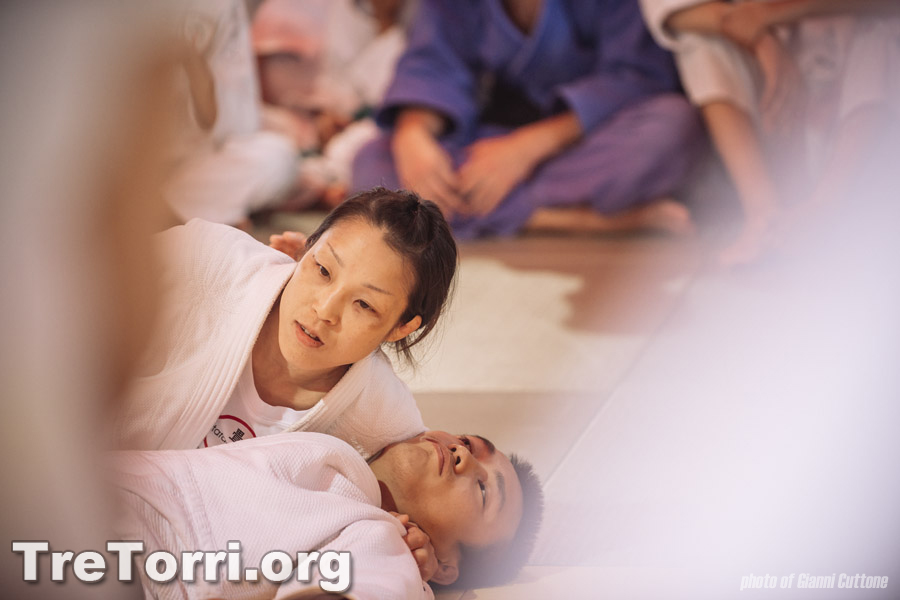 Hiromi Kaji, the female novelties of the Judo Summer Camp 2014