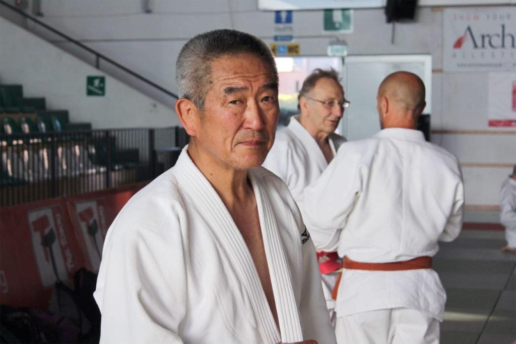 Hiroshi Katanishi, Maestro di Judo 8° Dan e direttore tecnico del Judo Summer Camp.