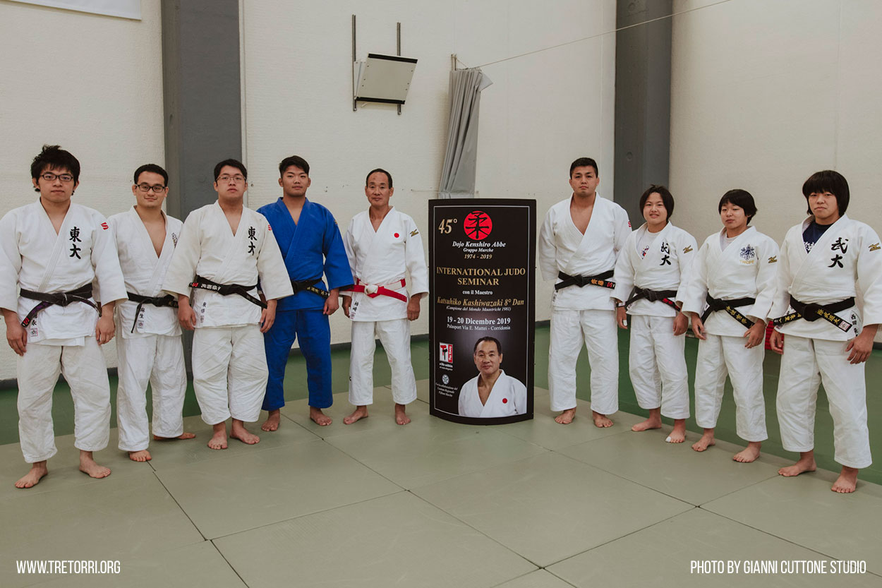 Sport & Culture Italy, France and Japan at the International Judo Seminar 2019