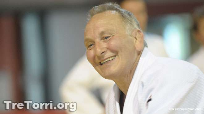 Corrado Croceri wears the Judogi Elite Tre Torri